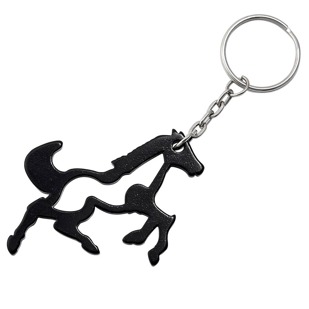 Galloping Horse Key Chain - Bottle Opener