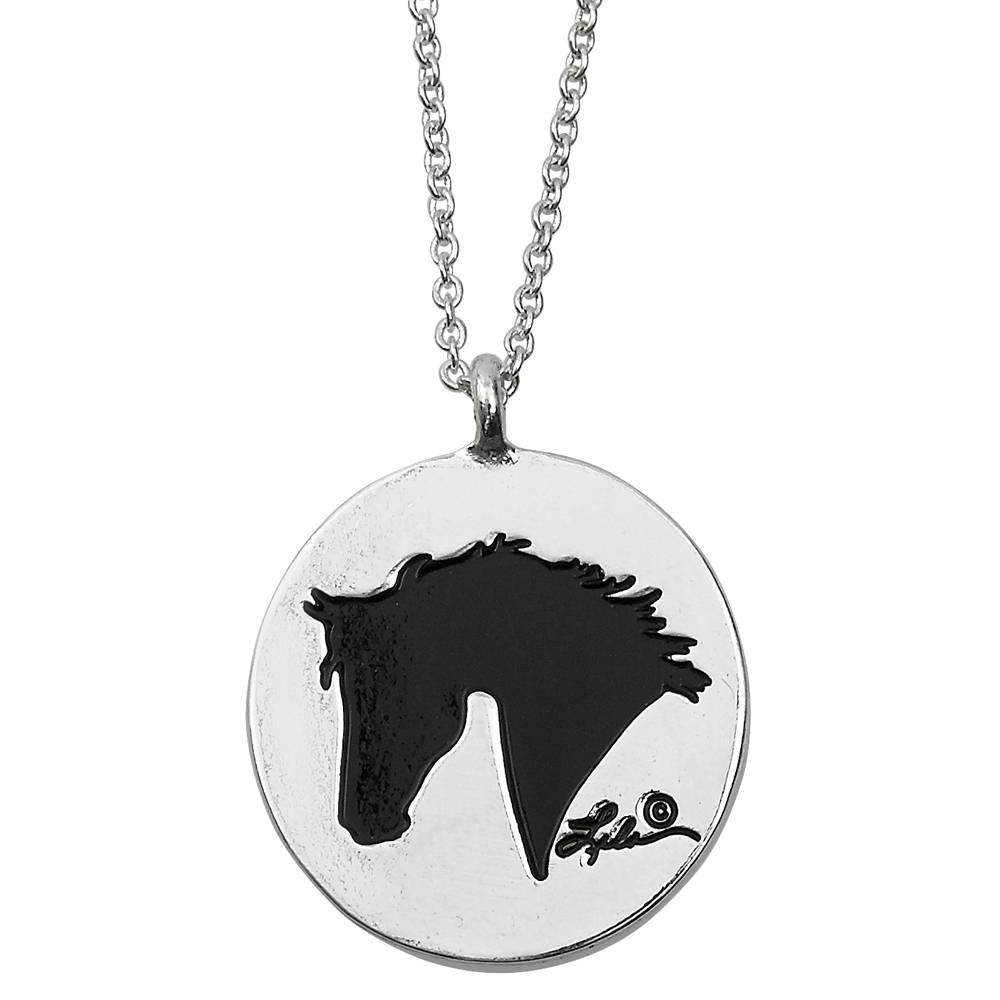 Ladies' Lila 'Live, Laugh ,Love, Ride' Necklace