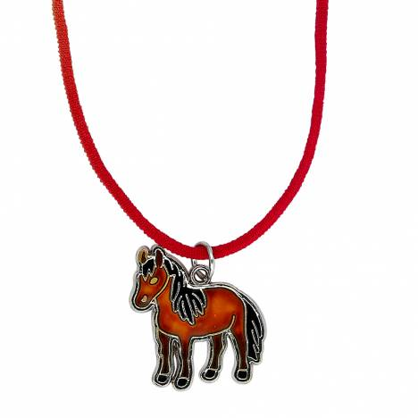 Kids Horse Mood Necklace