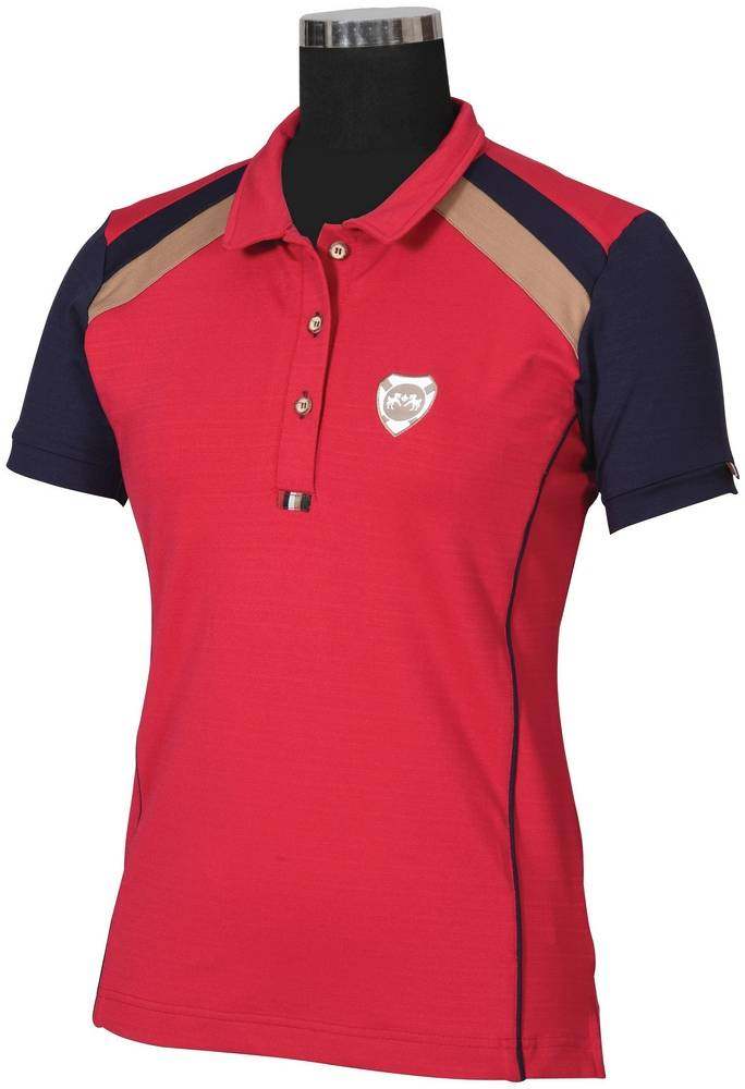 Equine Couture Ladies Carrington Short Sleeve Polo Shirt