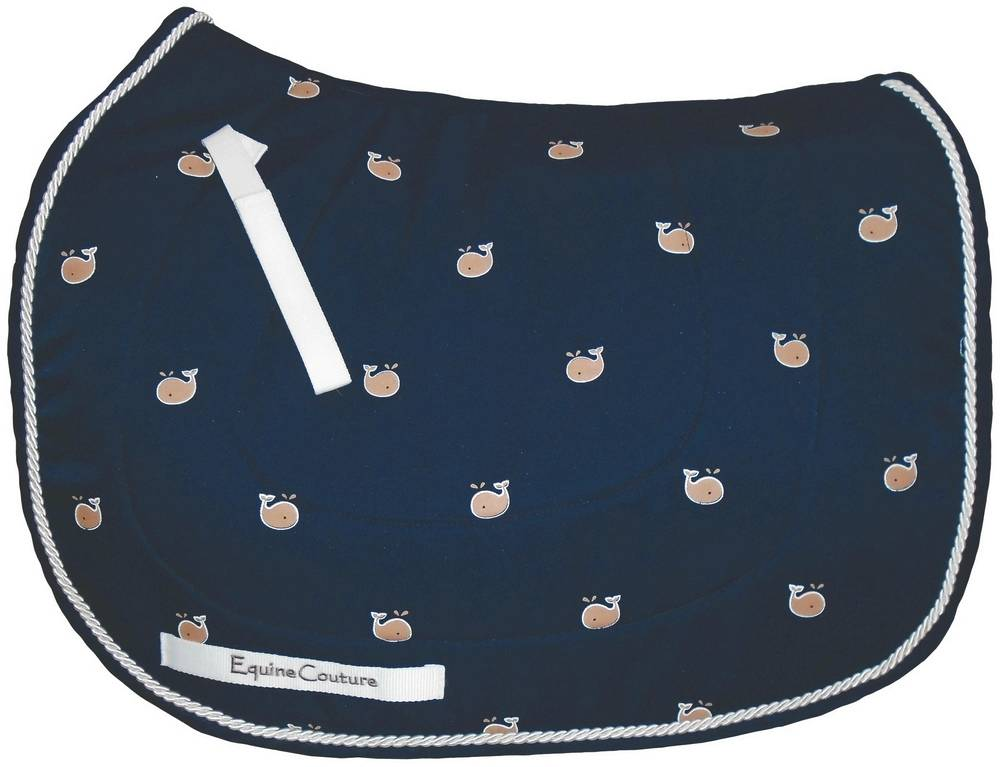 Equine Couture Whales Pony Saddle Pad