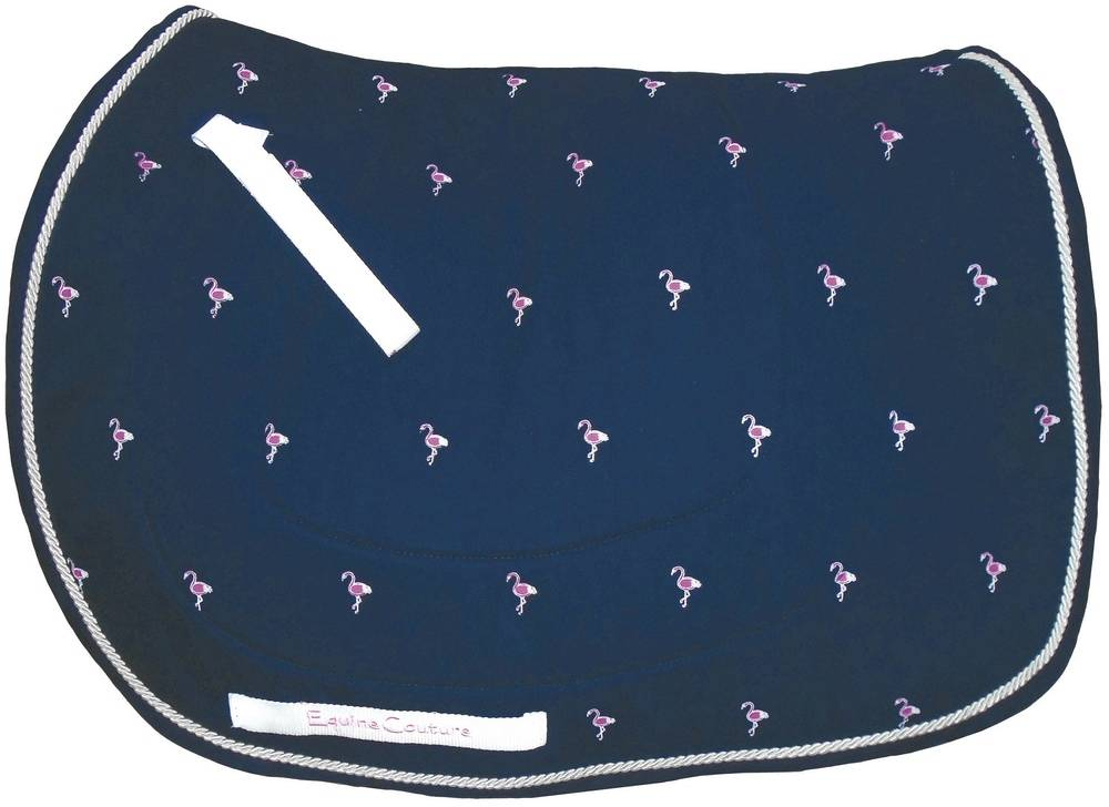 Equine Couture Flamingo Pony Saddle Pad