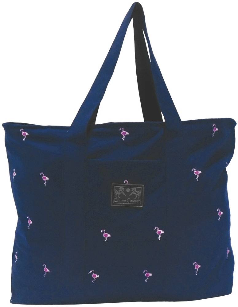 Equine Couture Flamingo Tote Bag
