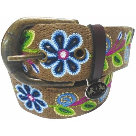 Equine Couture Ladies Lilly Cotton Belt