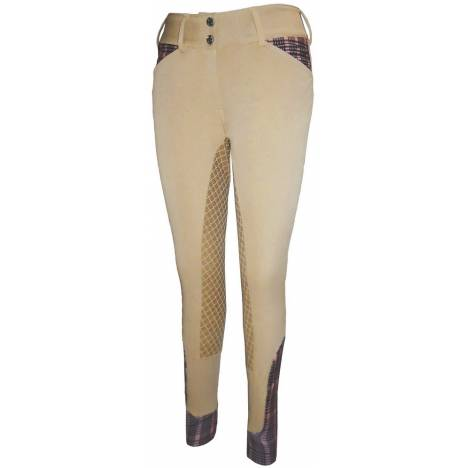 Equine Couture Ladies Baker Pro Full Seat Breech