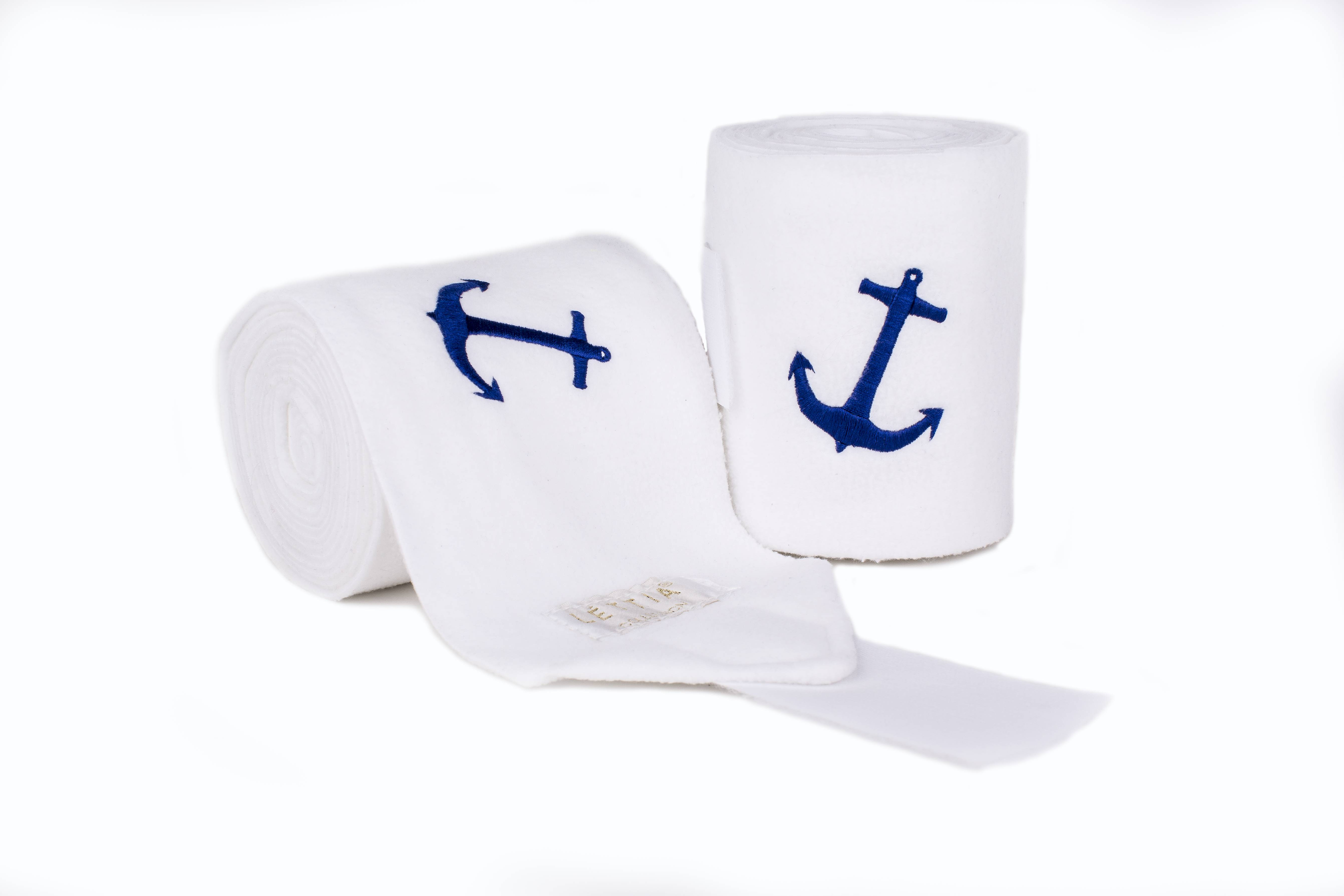 Lettia Embroidered Polo Wraps - Anchor