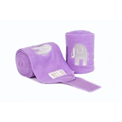 Lettia Embroidered Polo Wraps - Elephant