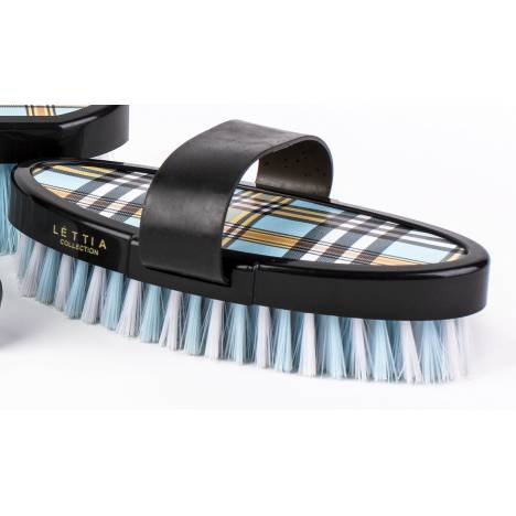 Lettia Plaid Collection Body Brush