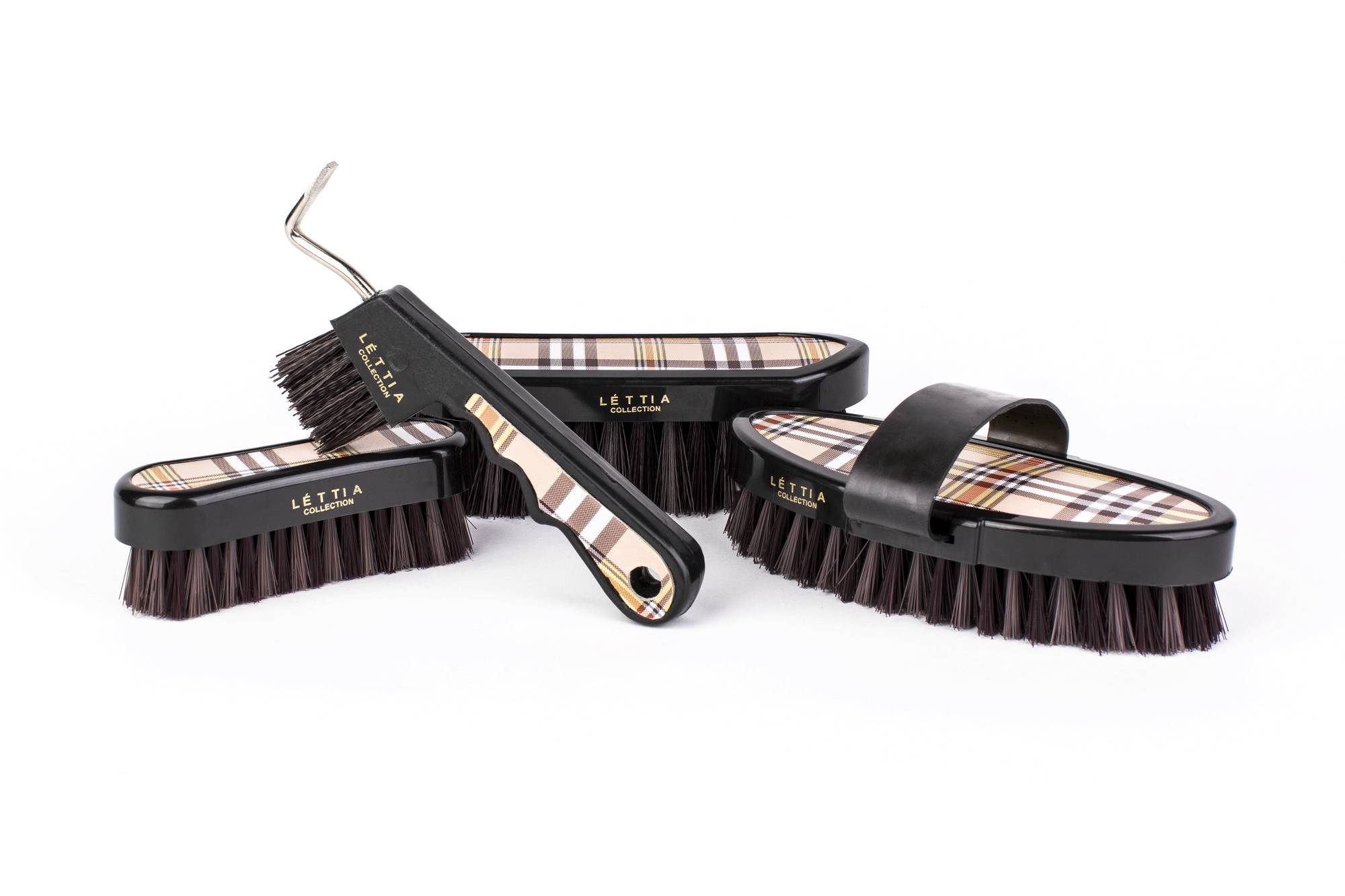 Lettia Plaid Collection Dandy Brush