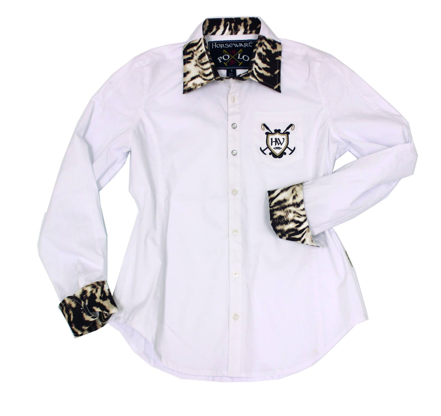Horseware Polo Aurore Shirt - Ladies, Zebra