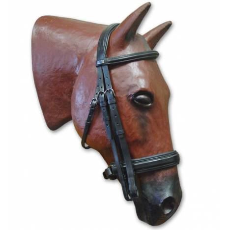Stubben Weymouth Bridle with Crank Noseband