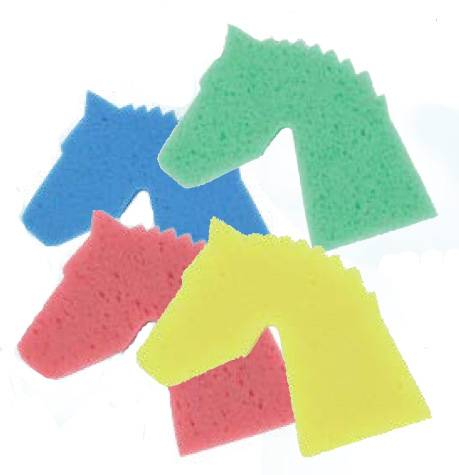 Tail Tamer Horse Sponge- Mixed 4 Pack