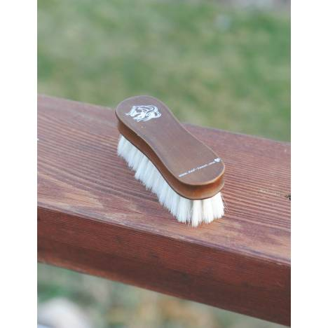 Tail Tamer Wood Series Small Wooden Goat Hair Brush