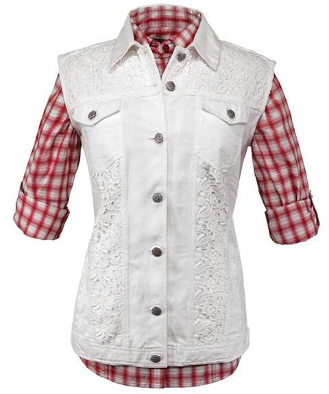 Outback Trading Pearl Vest- Ladies