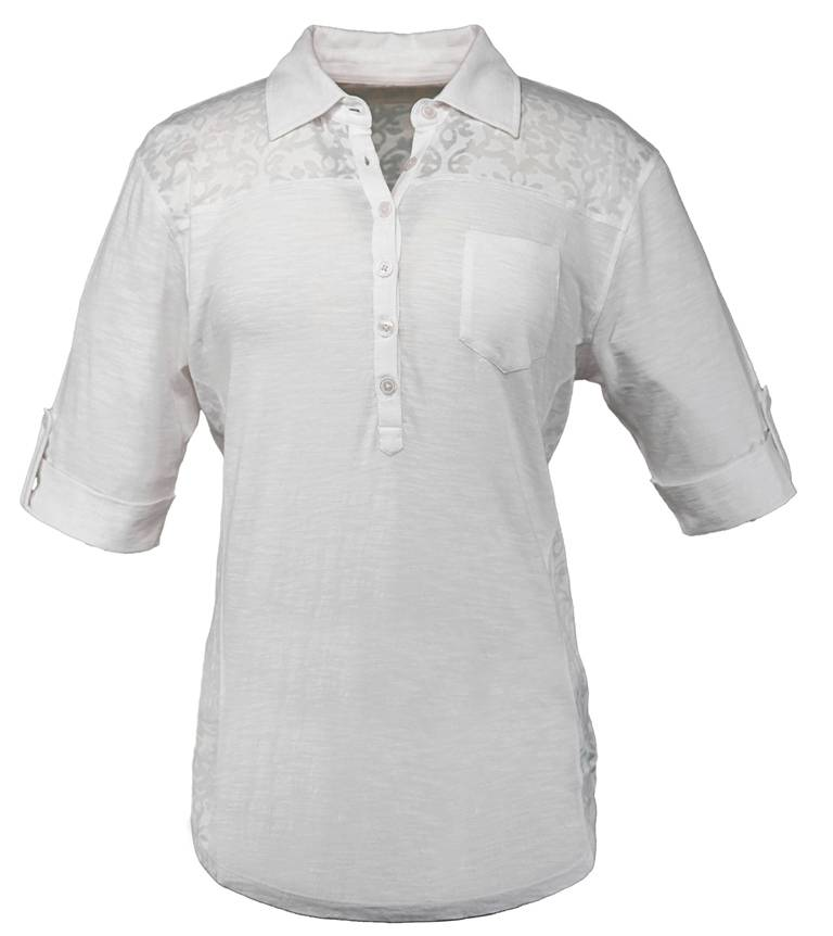 Outback Trading Raleigh Tee- Ladies