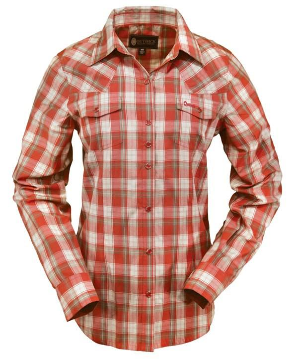 Outback Trading Dixie Performance Shirt - Ladies