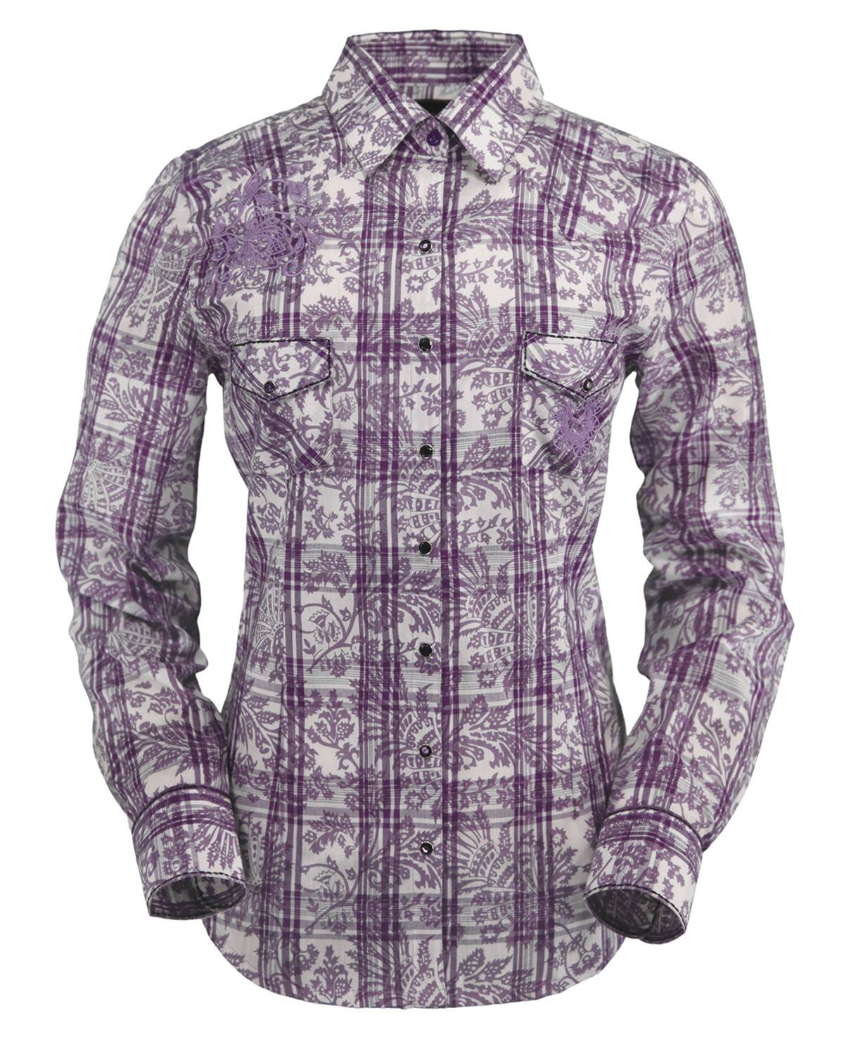 Outback Trading Lavender Shirt - Ladies