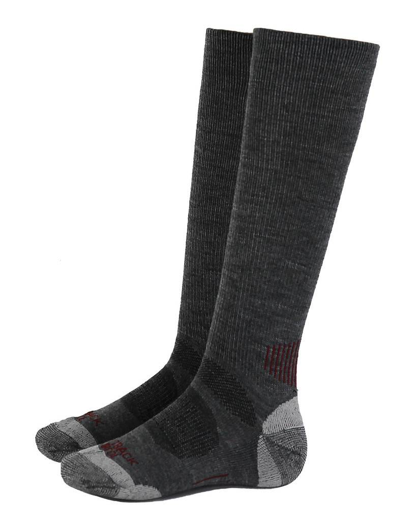 Outlet - Outback Trading River Hills Sock, One, Heathered Grey