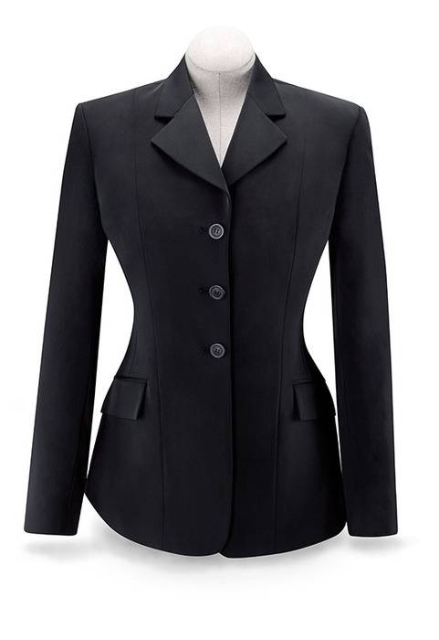 Outlet - Rj Classics Ladies Plus Size Xtreme Soft Shell Show Coat -Black, 22 Regular, Black