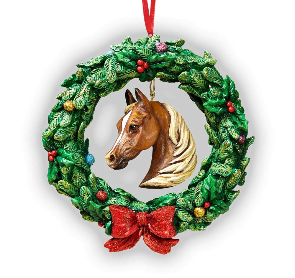 Breyer 2016 Equestrian Wreath Ornament