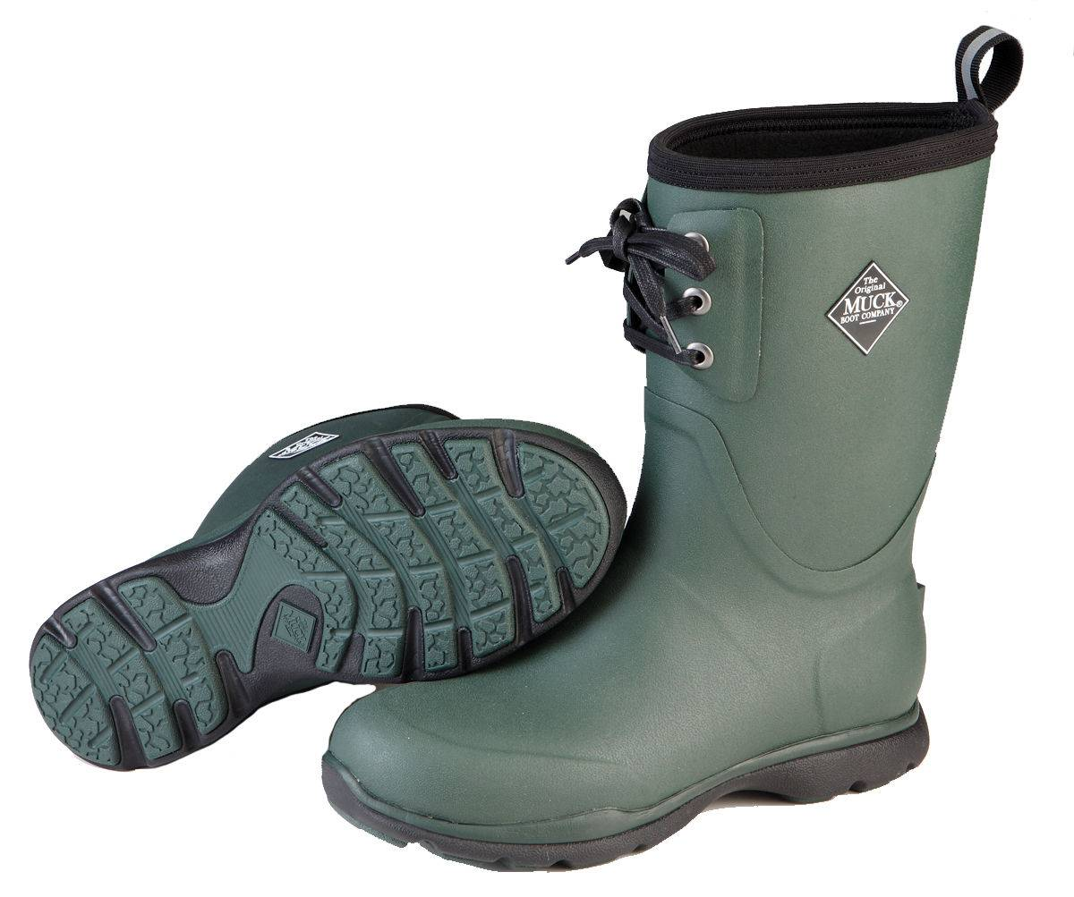 Muck Boots Arctic Excursion Lace Mid - Mens - Green