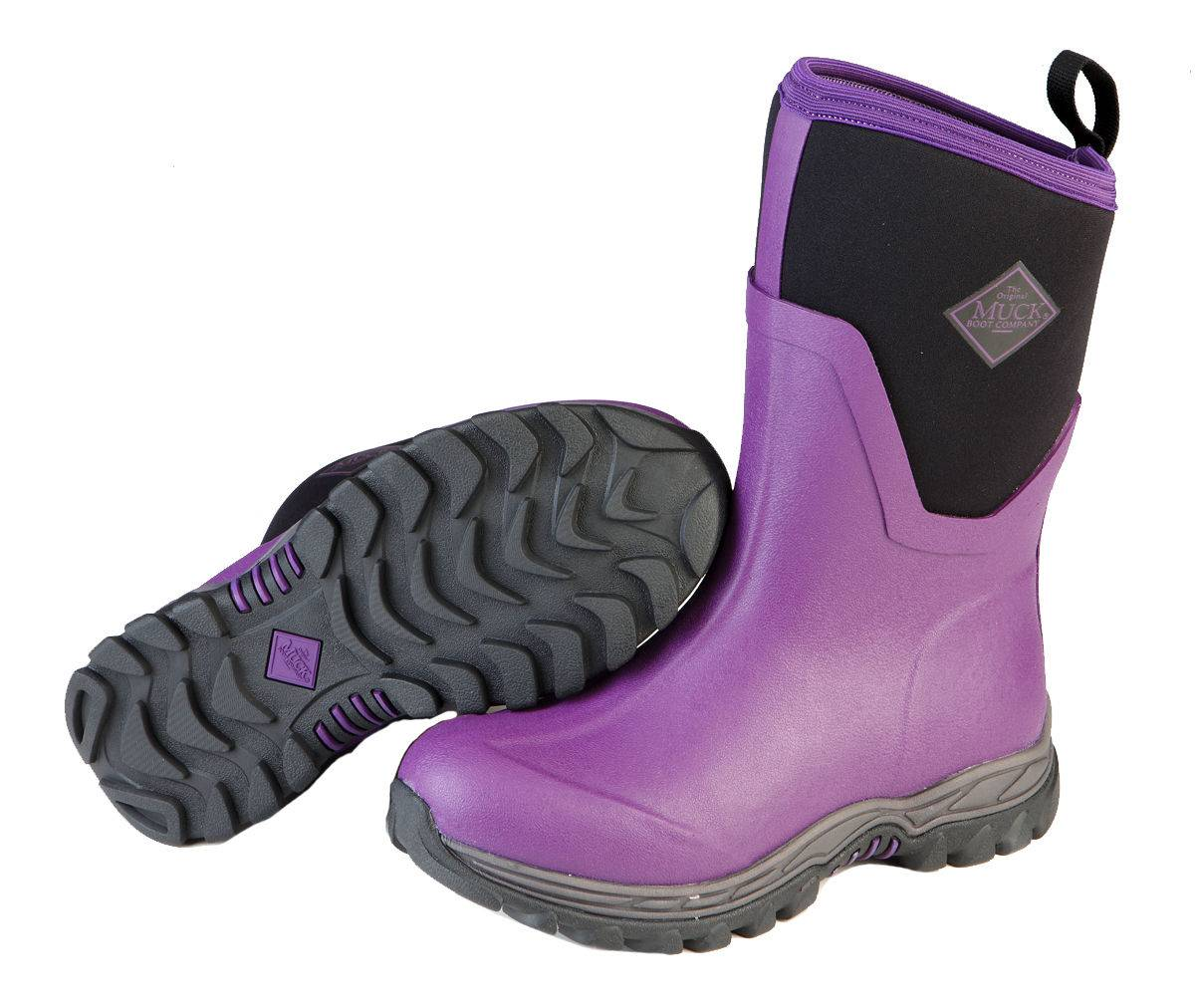 Muck Boots Arctic Sport II Mid - Ladies - Purple