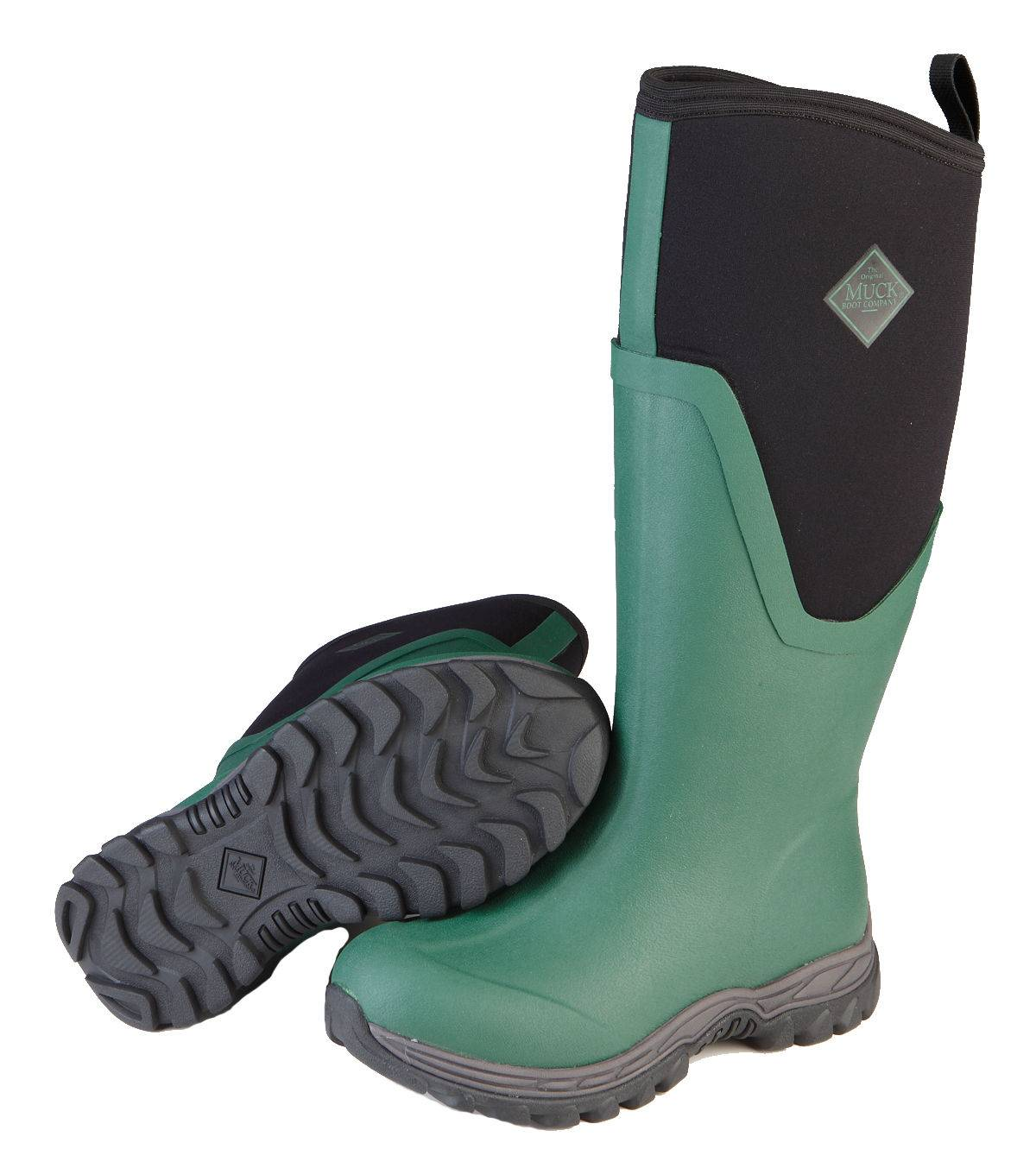 Muck Boots Arctic Sport II Tall - Ladies - Green