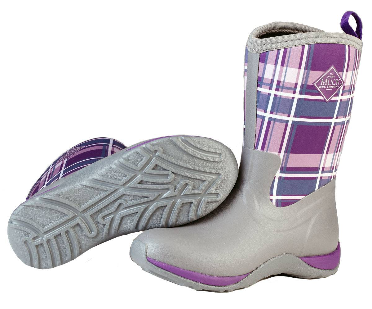 Muck Boots Arctic Weekend - Ladies - Gray/Acai