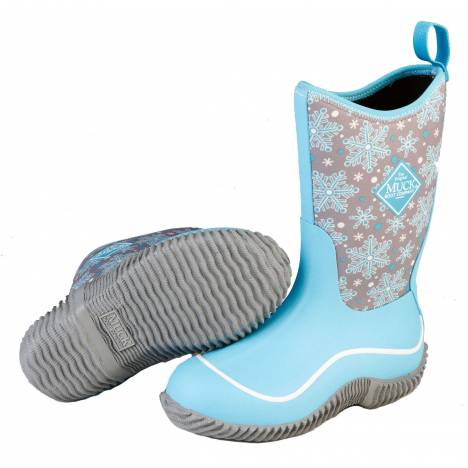 Muck Boots Hale - Kids - Blue Snowflake