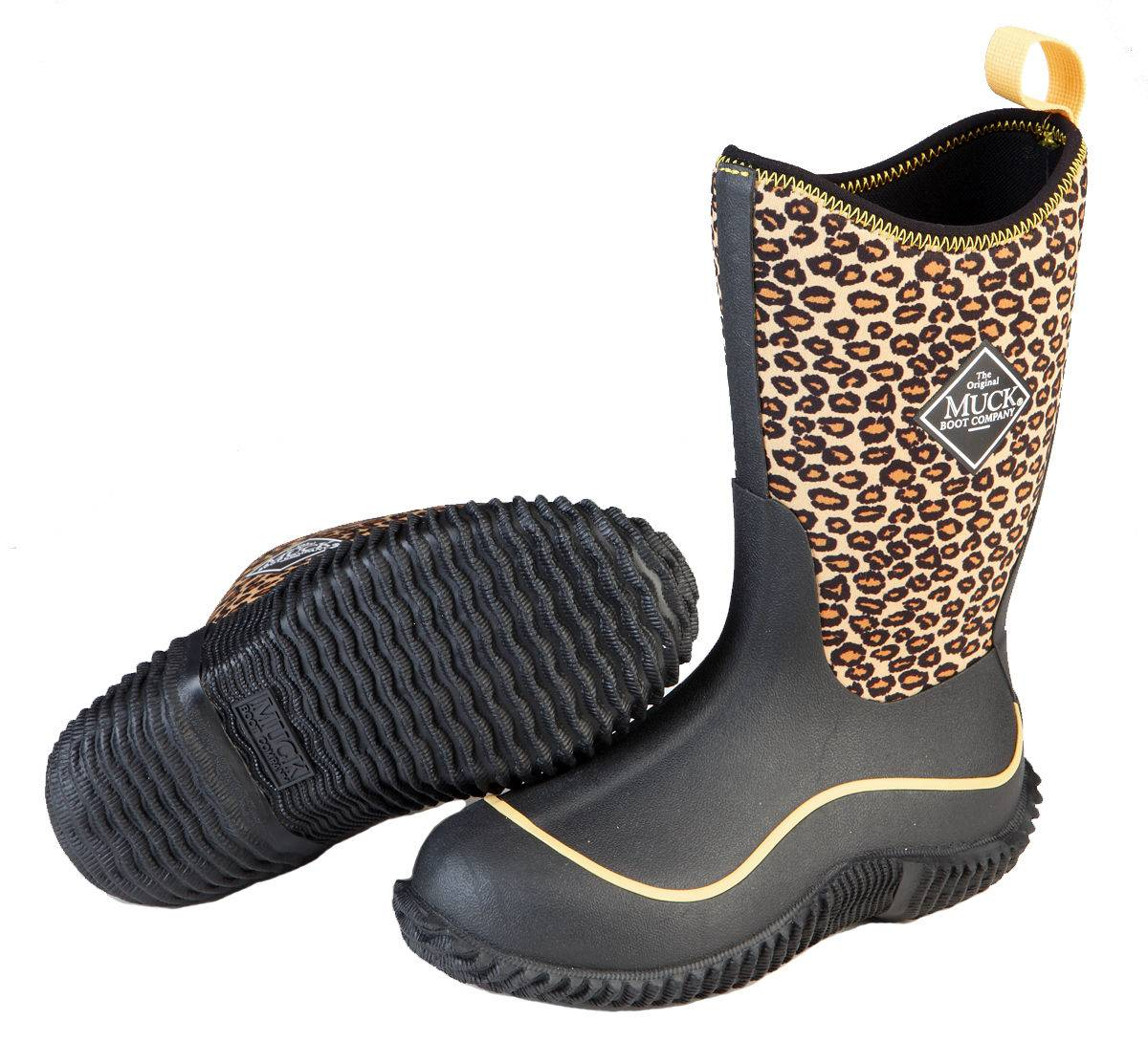 Muck Boots Hale - Kids - Orange Cheetah