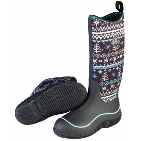 Muck Boots Hale - Ladies - Black Winter Knit