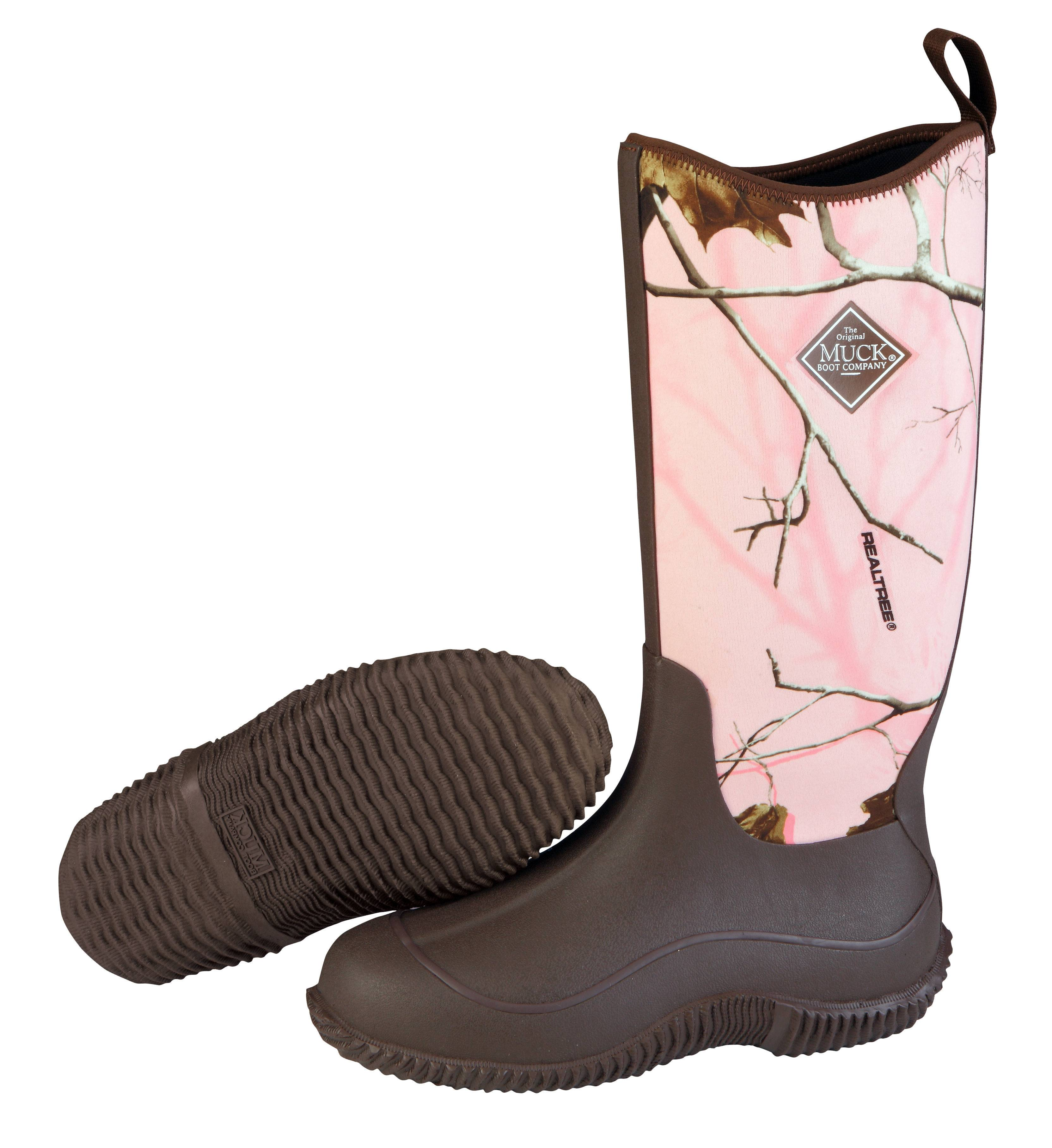 Muck Boots Hale - Ladies - Pink Realtree