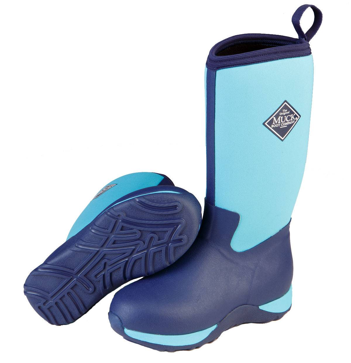 Muck Boots Arctic Adventure - Kids - Blue/Navy