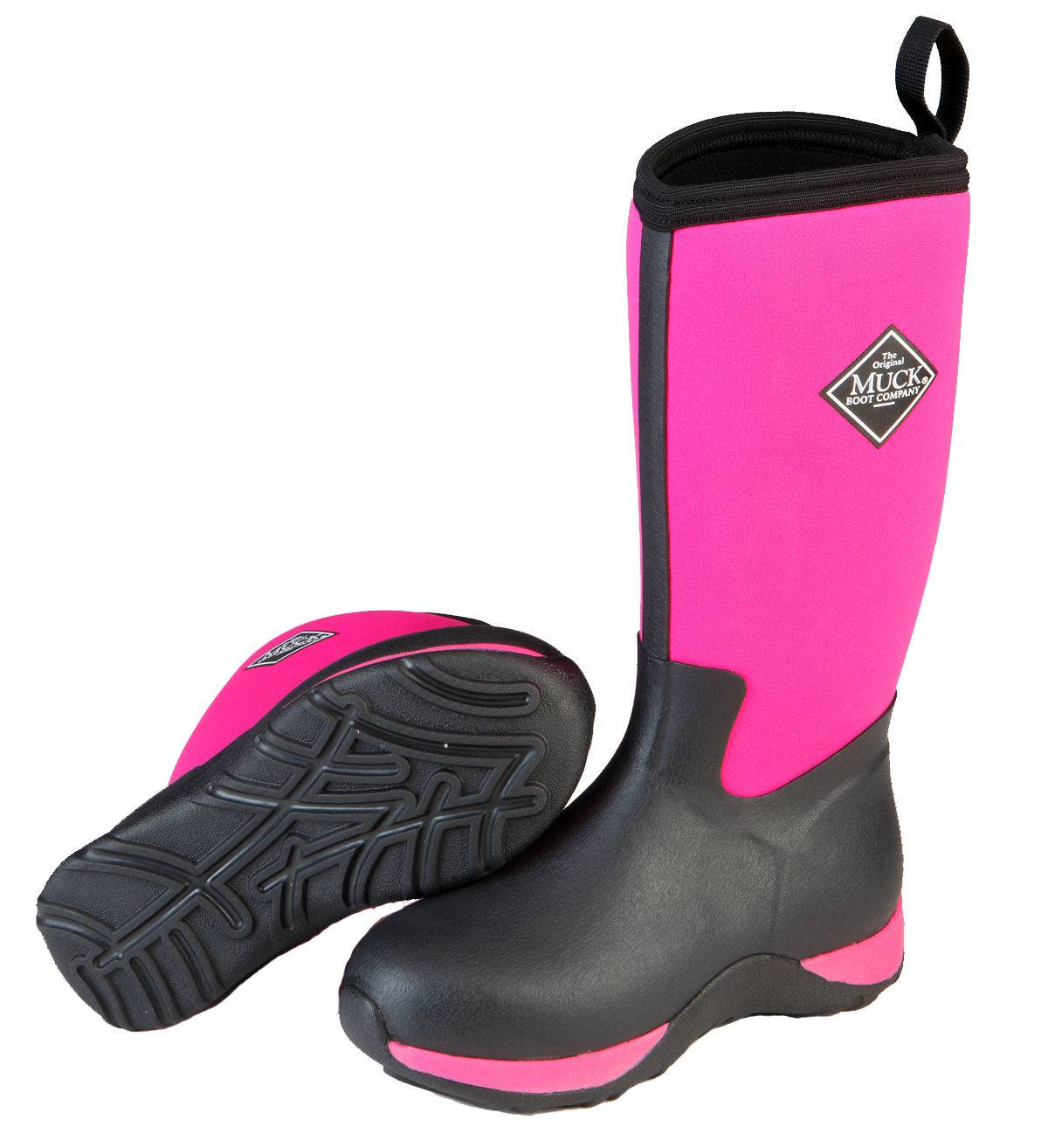 Muck Boots Arctic Adventure - Kids - Pink/Black