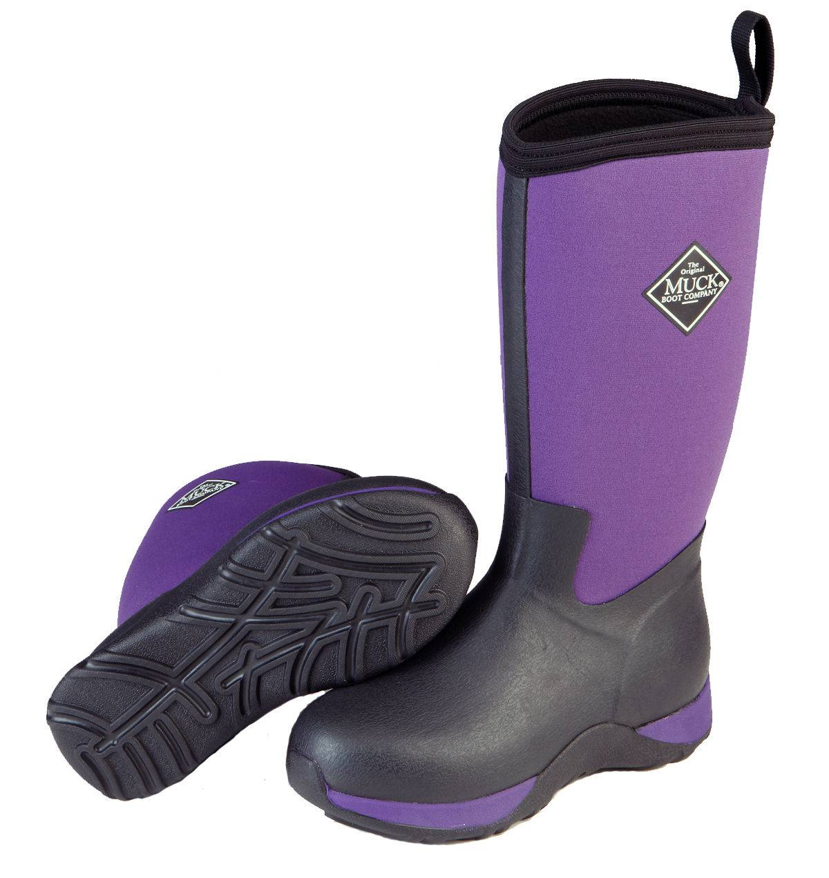 Muck Boots Arctic Adventure - Kids - Purple/Black