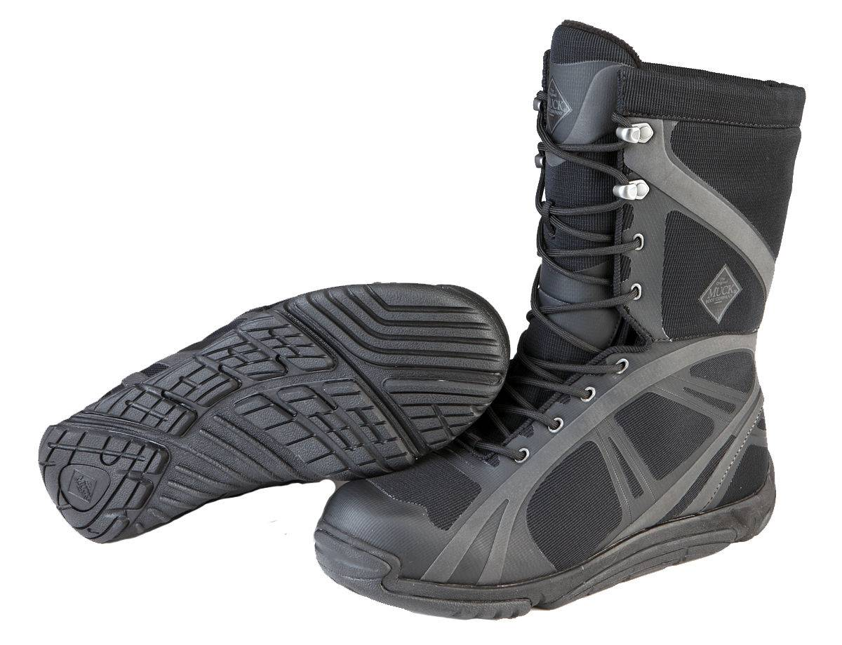 Muck Boots Pursuit Shadow Mid - Mens - Black/Carbon