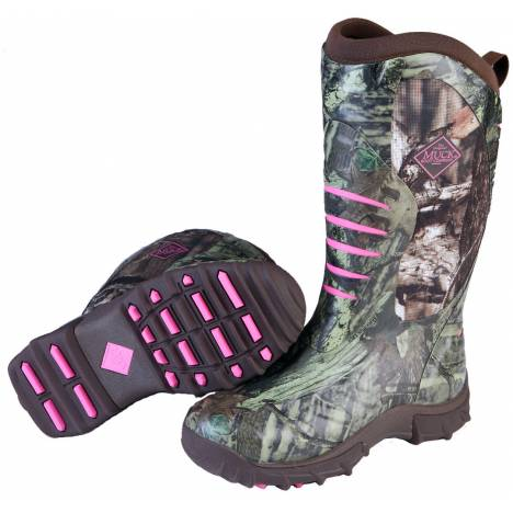 Muck Boots Pursuit Stealth - Ladies - Realtree Xtra/Pink