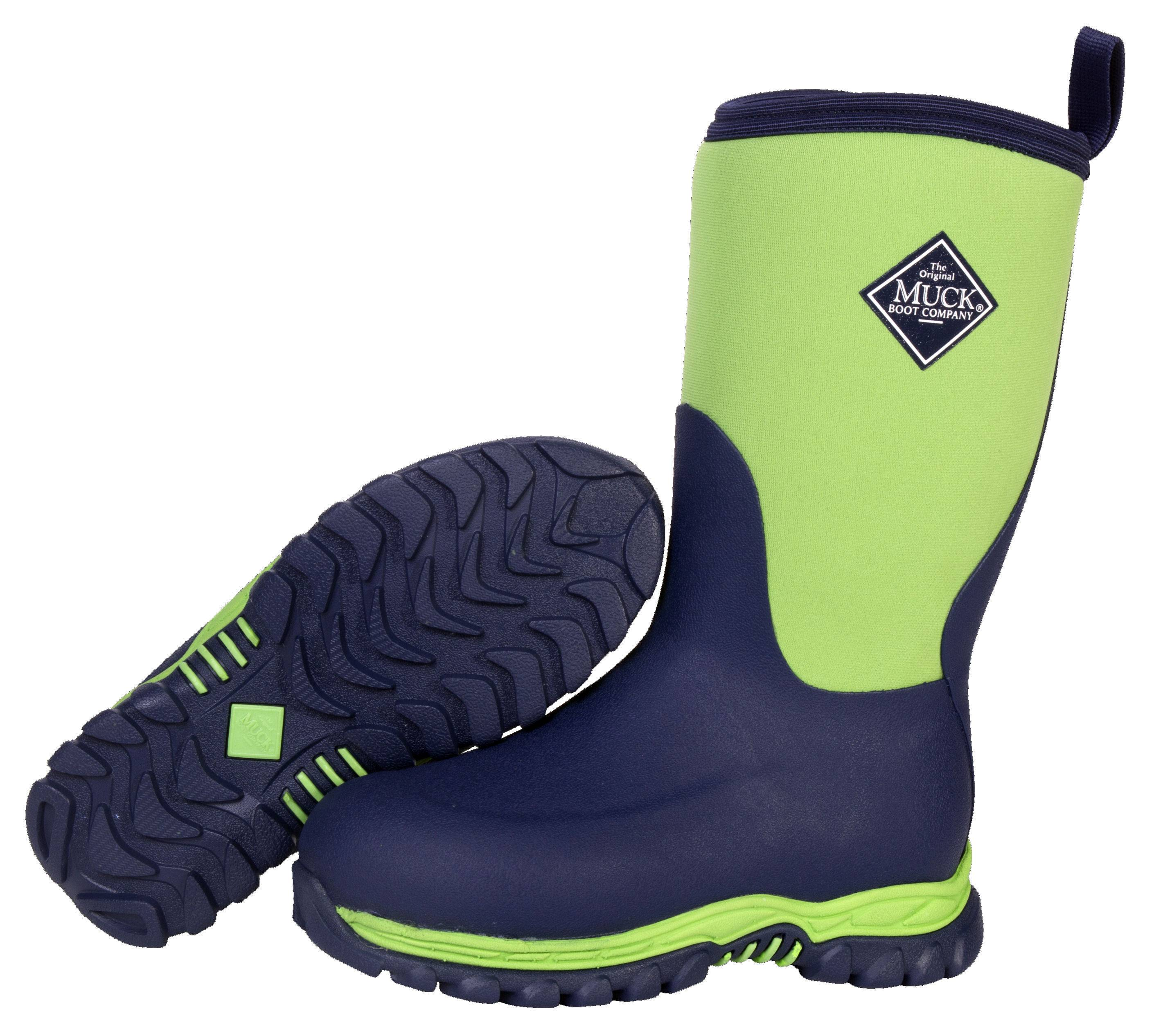 Muck Boots Rugged II - Kids - Navy/Green