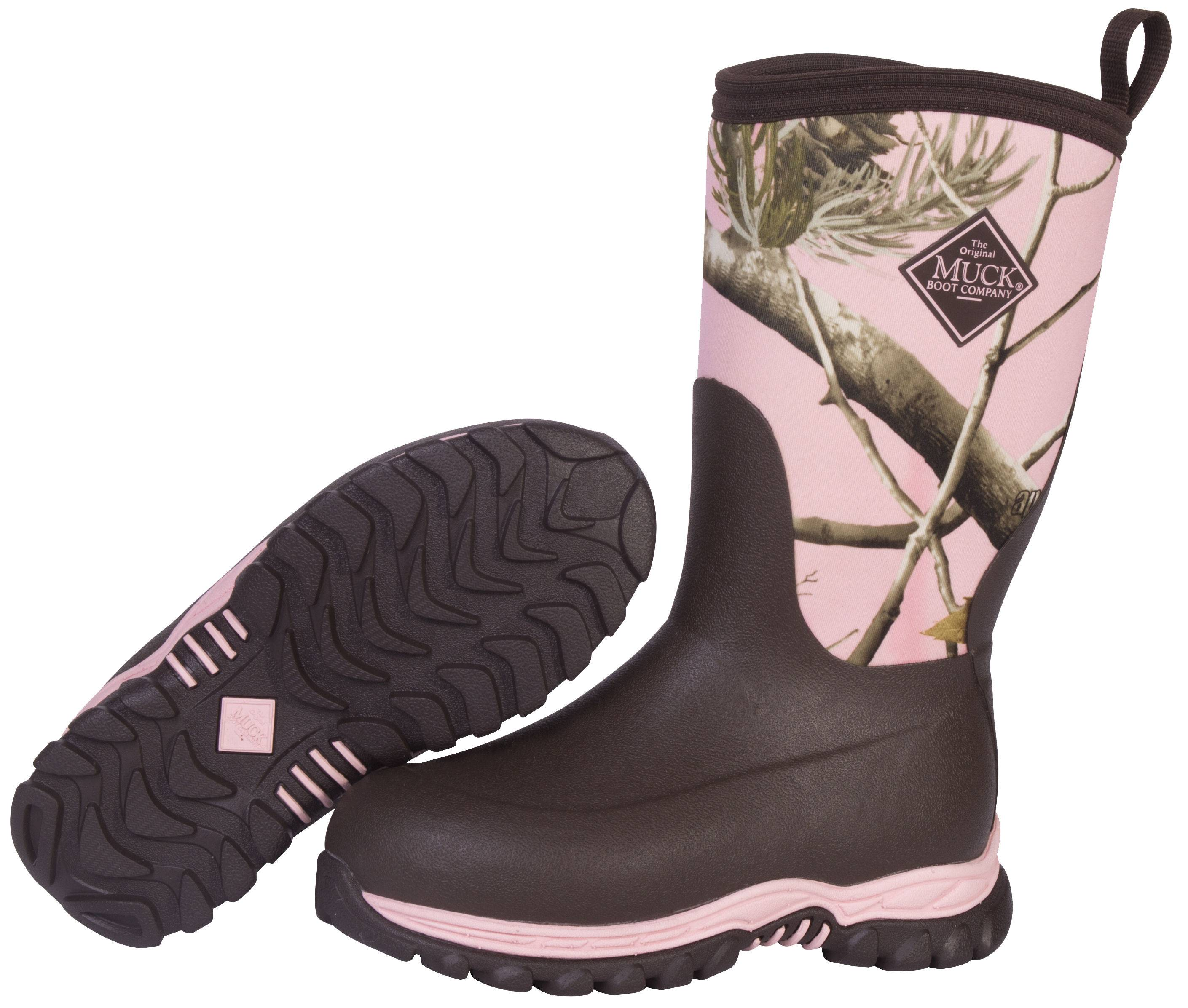 Muck Boots Rugged II - Kids - Pink Realtree