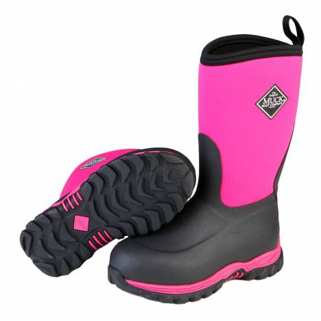 Muck Boots Rugged II - Kids - Pink/Black