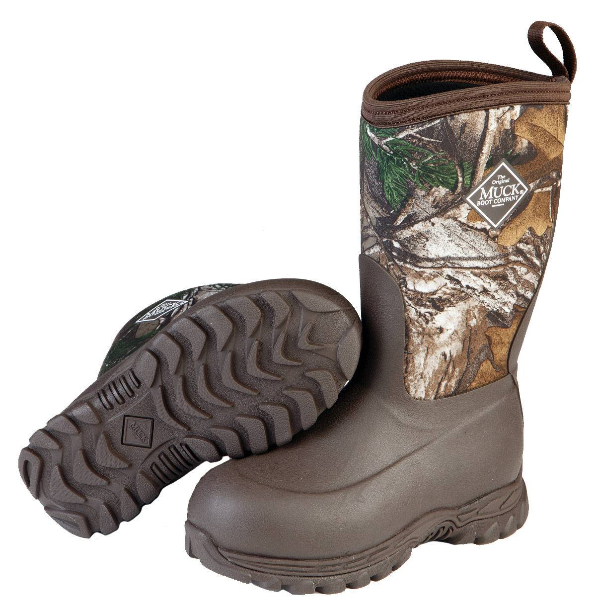Muck Boots Rugged II - Kids - Realtree Xtra
