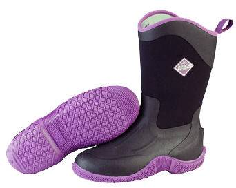 Muck Boots Tack II Mid - Ladies - Black/Purple