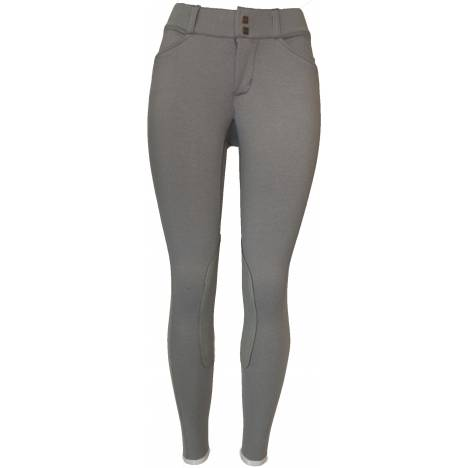 FITS Kimberly All Season Knee Patch Breeches - Ladies - Heather Gr