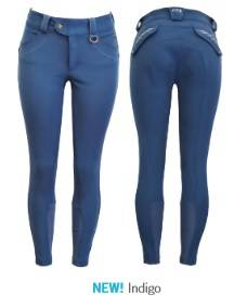 FITS Hannah Printed Full Seat Breeches - Ladies - Indigo