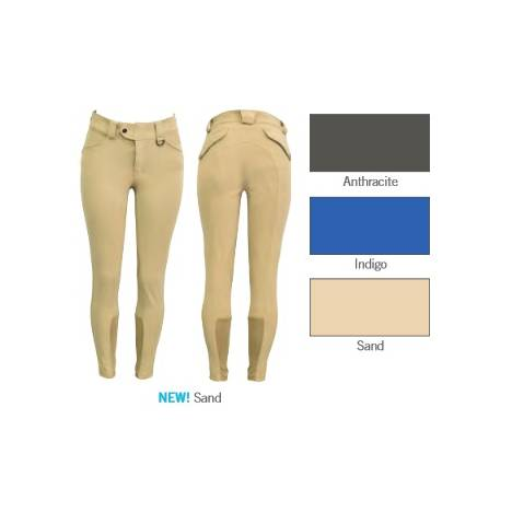 FITS Kallie Printed Knee Patch Breeches - Ladies - Sand
