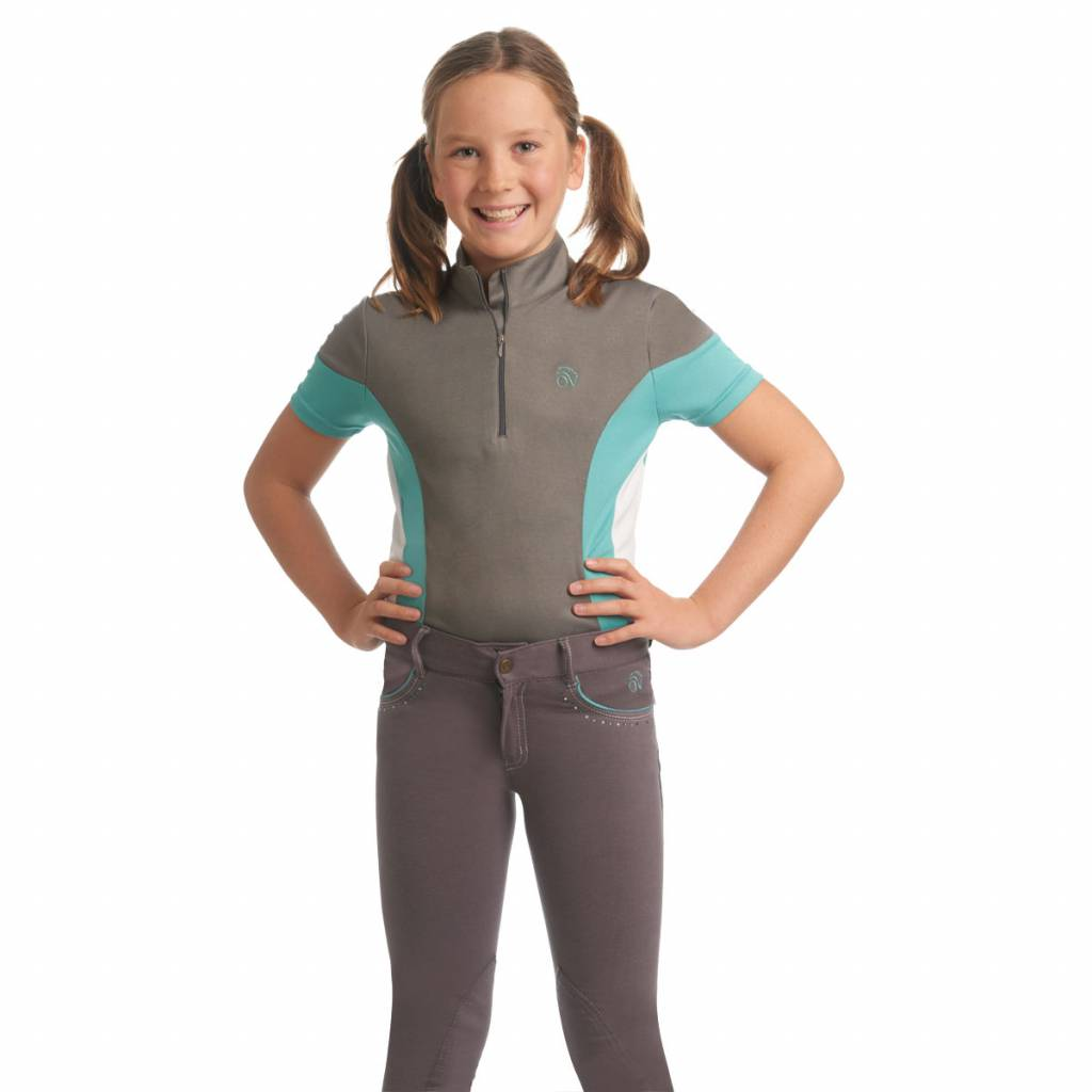 Ovation Mock-Neck Performance Top-Kid's
