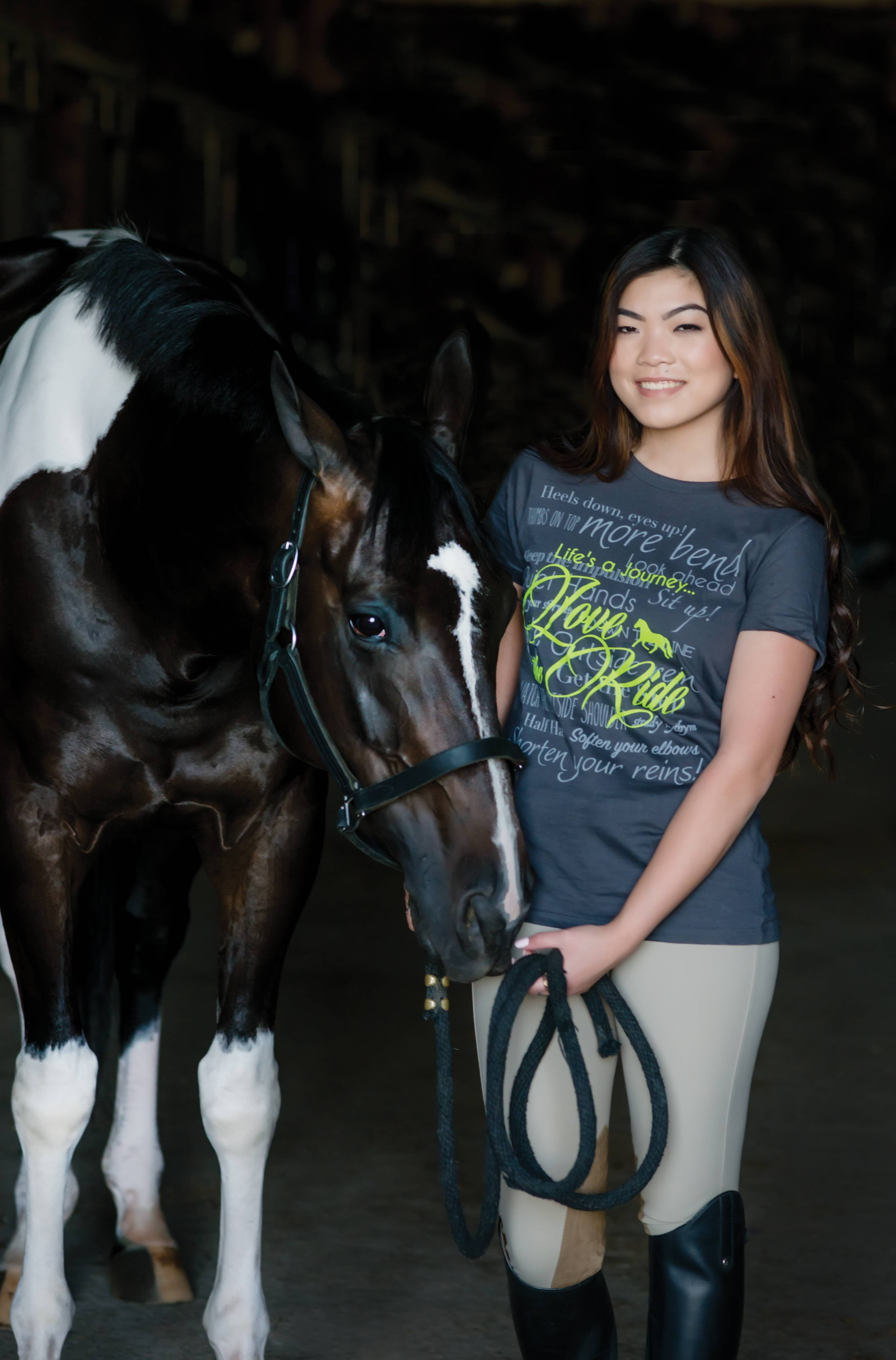 Genuine Equestrian Trainer's Tee - Ladies