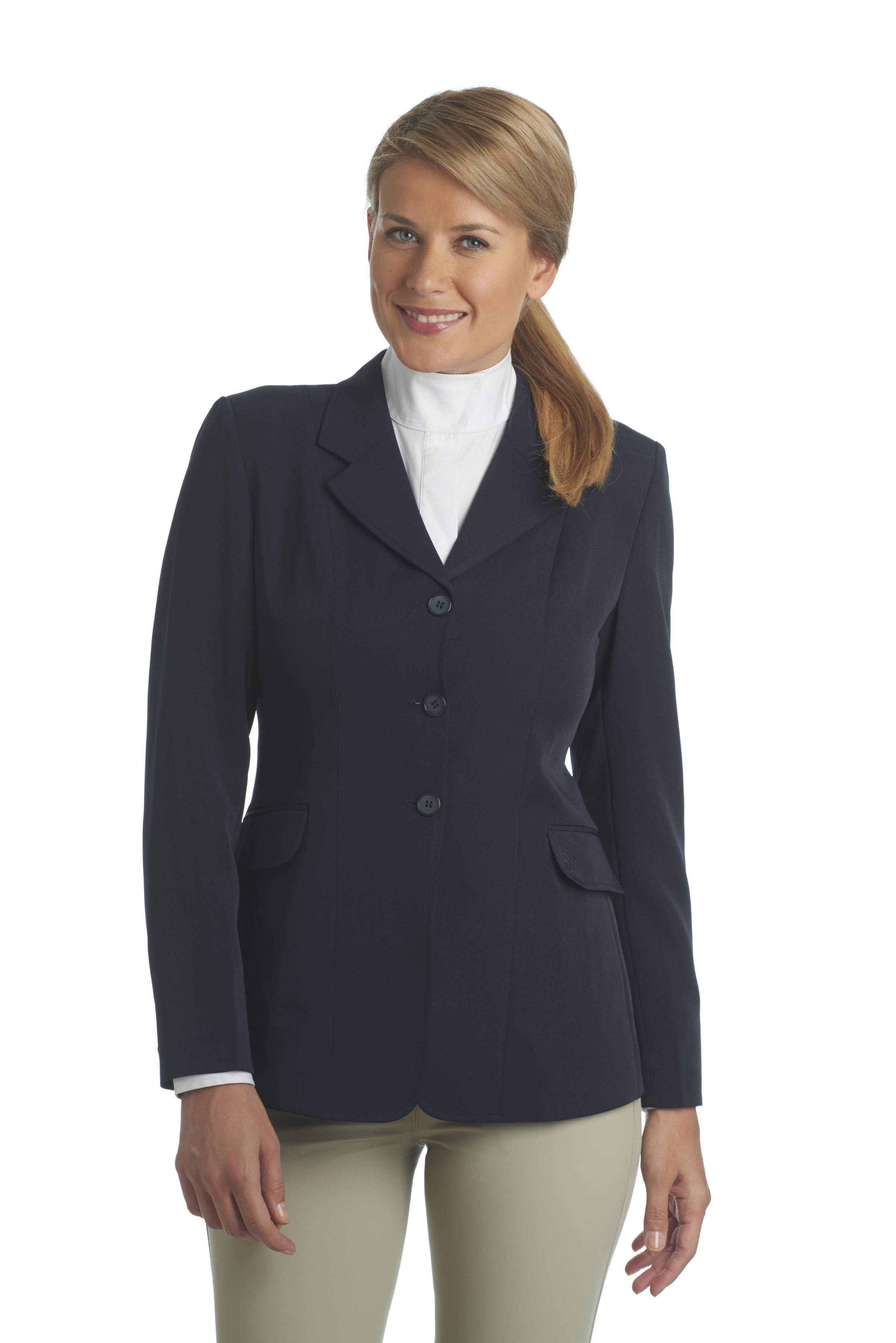 Ovation Classic Performance Coat-Ladies, Navy