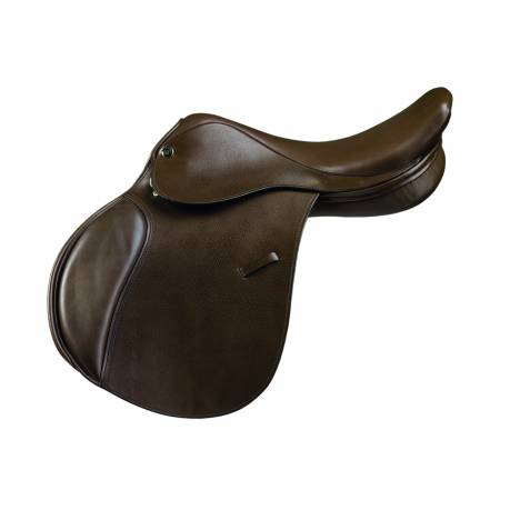Camelot Close Contact Saddle- Dark Brown