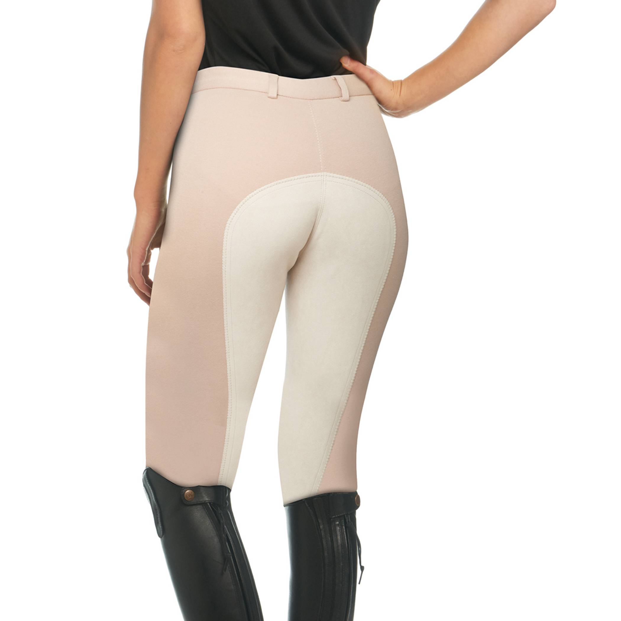 EquiStar Front Zip Full Seat Breeches - Ladies
